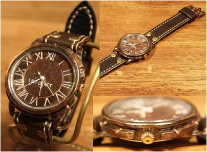 【大感謝価格 】手作り時計 LEO CRAFT PB-GW351