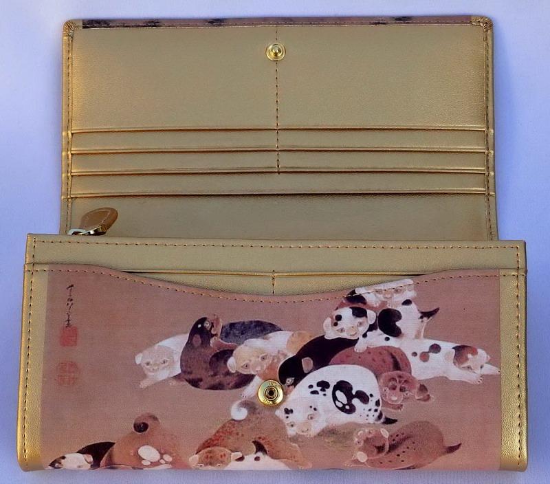 【大感謝価格 】子犬の長財布 K12458