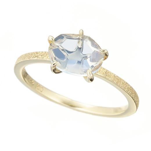 【大感謝価格】マレア リッチ Marea rich 17KJ-02 K10×ストーン スターフィッシュ リング 指輪 10号 Natural Starfish Ring