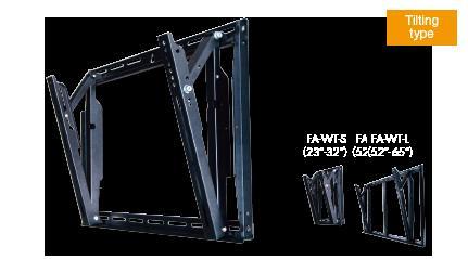 『日晴金属 テレビ壁掛け金具 FA-WT-M』(割引不可)返品キャンセルあり、お取り寄せ品テレビアクセサリー 部品 壁掛け金具『日晴金属 テレビ壁掛け金具 FA-WT-M』