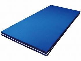 【メーカー直送】ウェルファンかたわたマットレス 91cm幅 5枚組ブルー5枚組001161【別途送料発生は連絡します、割引キャンセル返品不可】