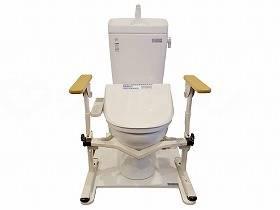 【メーカー直送】ハマセツ&リベンプラザどこでも寄っトイレ--HR-2【別途送料発生は連絡します、割引キャンセル返品不可】
