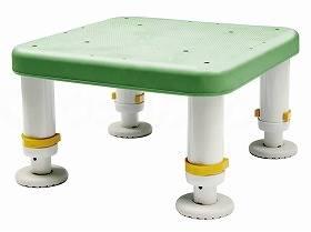 【メーカー直送】シンエイテクノダイヤタッチ浴槽台 コンパクトサイズグリーン10-15SYC10-15【別途送料発生は連絡します、割引キャンセル返品不可】