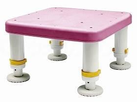 【メーカー直送】シンエイテクノダイヤタッチ浴槽台 コンパクトサイズピンク10-15SYC10-15【別途送料発生は連絡します、割引キャンセル返品不可】