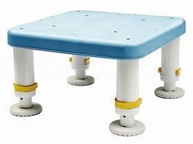 【メーカー直送】シンエイテクノダイヤタッチ浴槽台 コンパクトサイズブルー10-15SYC10-15【別途送料発生は連絡します、割引キャンセル返品不可】