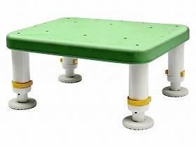 【メーカー直送】シンエイテクノダイヤタッチ浴槽台 レギュラーサイズグリーン15-25SYR15-25【別途送料発生は連絡します、割引キャンセル返品不可】