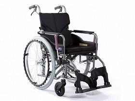 【メーカー直送】カワムラサイクルモダンAstyle 背折れ自走式 KMD-A22-40-MNo.68黒メッシュ(ポリエステル)座幅40-前座43cmKMD-A22-40-M【別途送料発生は連絡します、割引キャンセル返品不可】