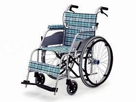 【メーカー直送】片山車椅子KARL(カール) 自走式 KW-901スカッシュ・ブルー座幅40cmKW-901B【別途送料発生は連絡します、割引キャンセル返品不可】
