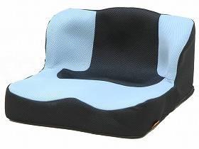 【メーカー直送】タカノ座位保持クッション LAPSライトブルー-TC-L01【別途送料発生は連絡します、割引キャンセル返品不可】