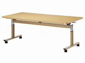 【メーカー直送】オフィスラボT字脚昇降式テーブル TRタイプ 角型-210×90(cm)TR-2190【別途送料発生は連絡します、割引キャンセル返品不可】