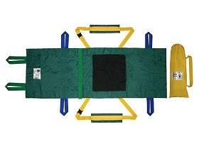 【メーカー直送】輝章救助担架 フレスト UD-001--520801【別途送料発生は連絡します、割引キャンセル返品不可】