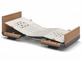 【メーカー直送】パラマウントベッド楽匠Z/2モーション(木製ボード)レギュラーミディアム91cm幅・足側:低KQ-7232【別途送料発生は連絡します、割引キャンセル返品不可】