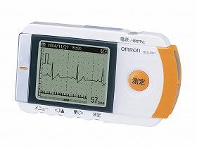 【メーカー直送】オムロンヘルスケア携帯型心電計 HCG-801--HCG-801【別途送料発生は連絡します、割引キャンセル返品不可】