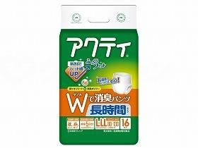 【メーカー直送】日本製紙クレシアTアクティWで消臭パンツ長時間タイプL-LL16枚ケースL-LL80634【別途送料発生は連絡します、割引キャンセル返品不可】