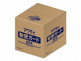 【メーカー直送】日本製紙クレシアアクティ 軟便ガード60本ケース-84705【別途送料発生は連絡します、割引キャンセル返品不可】