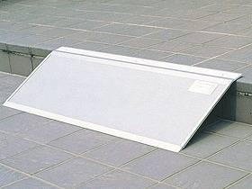 【メーカー直送】シクロケア安心スロープフリーサイズシルバー340×1600679【別途送料発生は連絡します、割引キャンセル返品不可】
