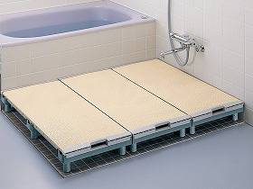 【メーカー直送】TOTOエムテック浴室すのこ(カラリ床 )-300×950EWB471【別途送料発生は連絡します、割引キャンセル返品不可】