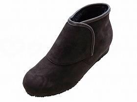 【メーカー直送】ウェルファン防寒ブーツ リシェス 防滑ソール 婦人用ブラウンM【別途送料発生は連絡します、割引キャンセル返品不可】
