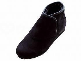 【メーカー直送】ウェルファン防寒ブーツ リシェス 防滑ソール 婦人用ブラックL【別途送料発生は連絡します、割引キャンセル返品不可】