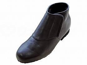 【メーカー直送】ウェルファン防寒ブーツ リシェス 防滑ソール 紳士用ブラックL【別途送料発生は連絡します、割引キャンセル返品不可】