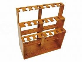 【メーカー直送】ウェルファン杖用 木製什器(23本用)--WFT-60【別途送料発生は連絡します、割引キャンセル返品不可】