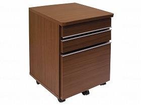 【メーカー直送】ネクスタス株式会社リハ家具 床頭台ブラウン-NX-0001B【別途送料発生は連絡します、割引キャンセル返品不可】