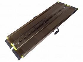 【メーカー直送】アイシン軽金属軽々スロープ エコノミー-2.0mSL200【別途送料発生は連絡します、割引キャンセル返品不可】