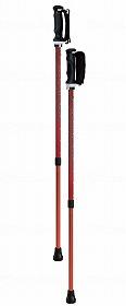 【メーカー直送】シナノもっと安心2本杖(2本組)パンサー-125538【別途送料発生は連絡します、割引キャンセル返品不可】