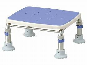 【メーカー直送】アロン化成ステンレス製浴槽台Rブルー17.5-25536449【別途送料発生は連絡します、割引キャンセル返品不可】