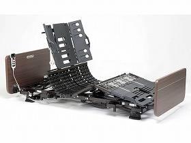【メーカー直送】パナソニックエイジフリー電動ケアベッド コンフォーネ 2モーション レギュラー/ショート木調ボード91cm幅XPN-S105200M【別途送料発生は連絡します、割引キャンセル返品不可】