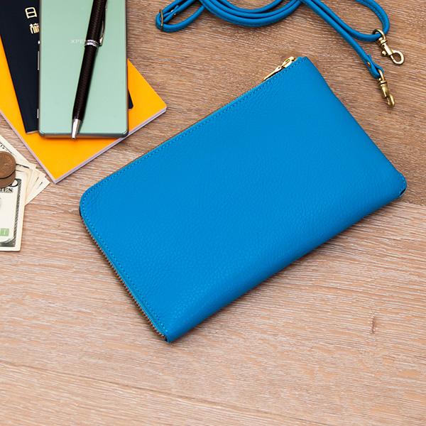 【送料無料】『ポルトボヌール』(全7色)イタリアンシュリンク/【iPhone7 Plus 財布 薄型 お財布バッグ 旅行 パスポートケース スマートフォン 牛革 レザー 本革 レディース メンズ 日本製】【AGILITY affa(アジリティ アッファ)】(1103)