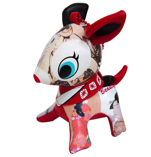 Puchbabiekey 链 ☆ 日本美丽图片 puchbabie 芭比娃娃钥匙扣鹿 PuchiBabie [10P05Oct15]