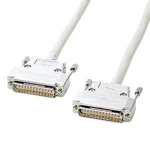 【即納】サンワサプライ RS-232Cケーブル(25pin/モデム・TA・切替器・15m) KRS-005-15N [KRS-005-15N]