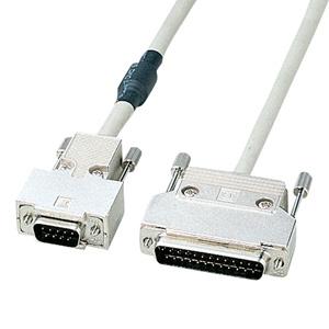サンワサプライ RS-232Cケーブル(モデム・TA・周辺機器・2m) KRS-3102N [KRS-3102N]