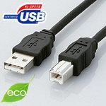 新品未使用正規品 お見舞い エレコム 環境対応USBケーブル 5m USB2-ECO50 ELECOM