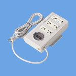 パナソニック OA電源タップ(接地抜け止め形) 6コ口 2mコード付 ブレーカ付 WCH4772 [WCH4772]