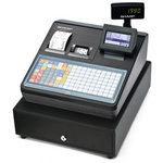 シャープ 電子レジスタ フラットキーボードタイプ ブラック XE-A417-B [XE-A417-B]