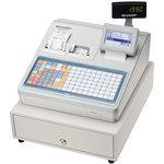 シャープ 電子レジスタ フラットキーボードタイプ ホワイト XE-A417-W [XE-A417-W]