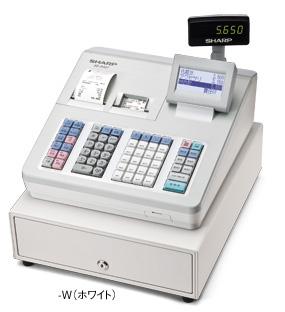 シャープ【軽減税率対策補助金対象】電子レジスタ ホワイト XE-A407-W20部門 2シート 漢字対応 (XEA407W)