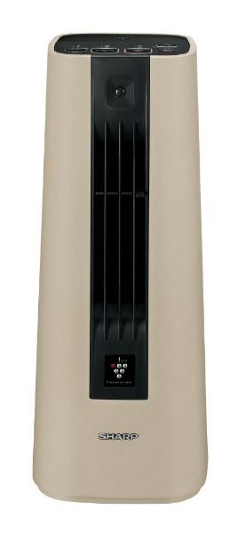 シャープ [ 人感センサー付セラミックファンヒーター ベージュ系 ] HX-JS1-C プラズマクラスター7000搭載 (hxjs1c)