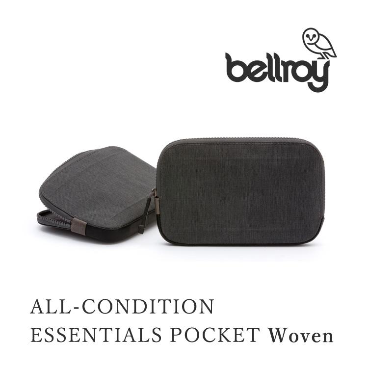 Bellroy ALL CONDITIONS ESSENTIALS POCKET Woven(ベルロイ ウォレット 財布 マルチケース スマート オーストラリア 薄い レザー 耐水性)【在庫有 ポイント10倍】【10/15】