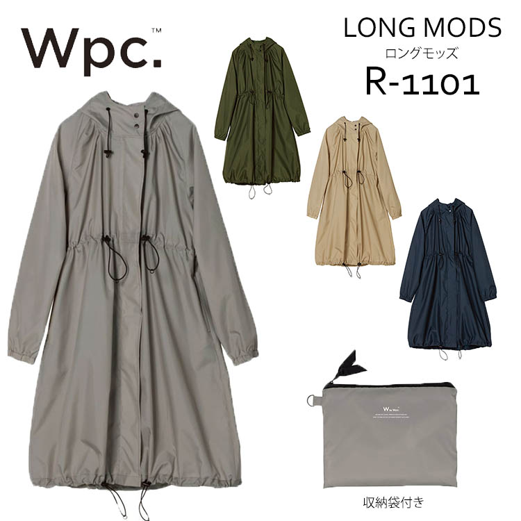 3846b84ba Passage shop: World party rainwear long Mods R-1101 (w.p.c raincoat ...