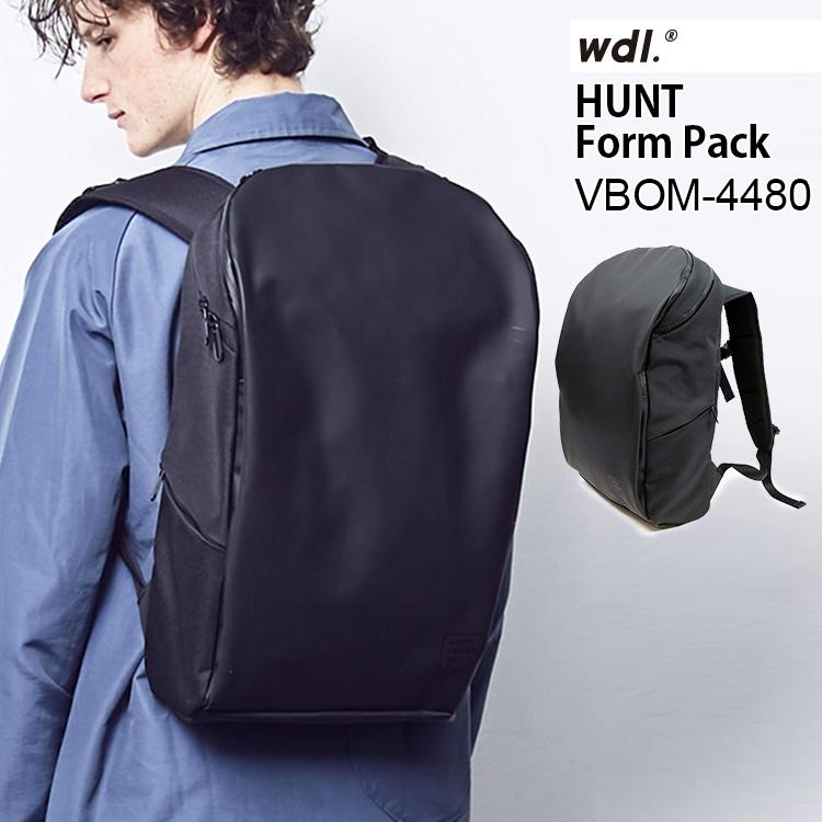 【選べるドアフック付き】ワームデザインラボ ハント フォームパック VBOM-4480(worm design lab HUNT Form Pack  ユニセックス ノートパソコン タブレット 大容量 旅行 収納 3層 撥水)【送料無料 ポイント10倍 お取寄せ】【1月7迄】