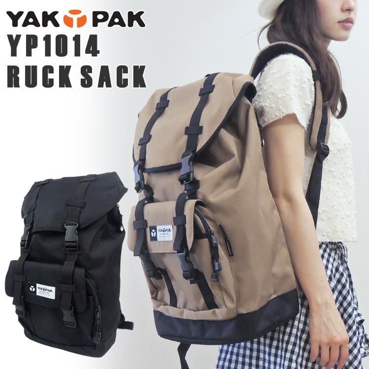 YAKPAK 背囊 (犛牛白石和傑克包 / 背包 / 背包 / 大 / 袋 / 下頁 / 紋理 / 男人結合 /YP2037) 02P01Mar15