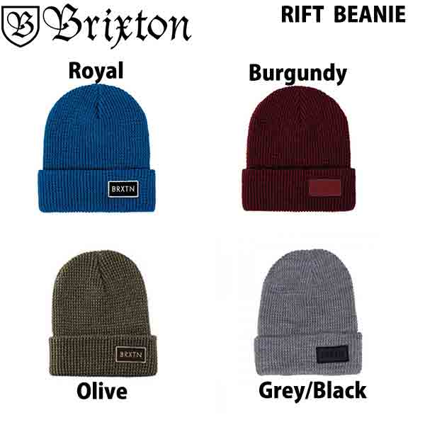 BRIXTON RIFT BEANIE ブリクストン 贈答品 ビーニー ニット帽 リフト 再販ご予約限定送料無料