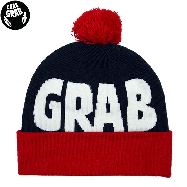 CRABGRAB クラブグラブ 全商品オープニング価格 アウトレット スノーボード ビーニー beanie ニット帽 pom