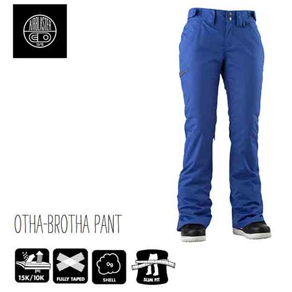 AIRBLASTER エアブラスター OTHA BROTHA PANT Cobalt ウェア レディース スノーボード 正規品【15-16】限定カラー