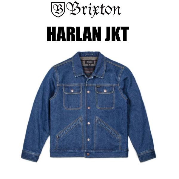 デニム JKT BRIXTON/ブリクストン/アウター/ジャケット/HARLAN