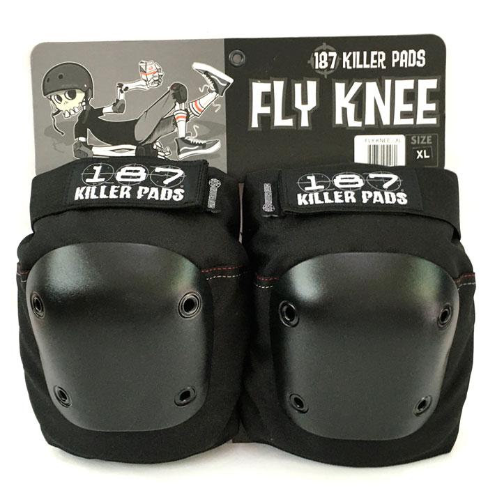 SKATEBOARD BMX プロテクター 187 KILLER PRO FLY KNEE お気にいる PAD 防具 キラーパッド ニーパッド スケートボード スケボー 入荷予定 膝パッド ユニセックス 大人 フライ