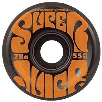クルーザーウィールで人気 お求めやすく価格改定 OJ Wheels Mini Super アイテム勢ぞろい Juice 55mm 78A スケボー ウィール クルーザーウィール オージェイ ミニ スケートボード スーパージュース